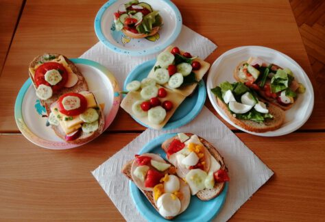 Robimy wiosenne kanapki – realizacja programu Dobrze Jemy ze Szkołą na Widelcu